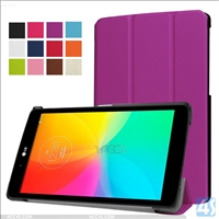 Tri Fold PU Leather Case for LG  G Pad X 8.0