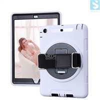 360 Rotation Anti Shock Kick Stand Case for APPLE iPad Mini 2 / 3 with Hand and Shoulder Strap