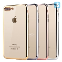 Electroplate TPU Case for Apple iPhone 7 plus