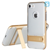 Clear Back Cover Kickstand Case for iPhone 7