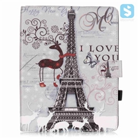Printed PU Leather Case for iPad 4 3 2