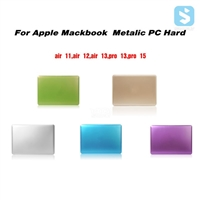 Metallic Color PC Hard Snap On Case for MacBook Pro 13 Retina