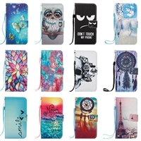 Printed PU Leather Wallet Case for SAMSUNG  Galaxy A3 (2017)
