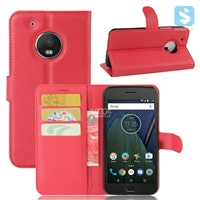 PU Leather Wallet Case for MOTOROLA G5 Plus
