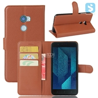 PU Leather Wallet Case for HTC One X10