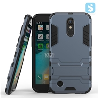 PC TPU 2in1 Kickstand Case for LG K10 (2017) / LG M250N (LV5)