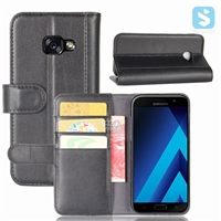 Genuine Leather Wallet Case for SAMSUNG Galaxy A3(2017)