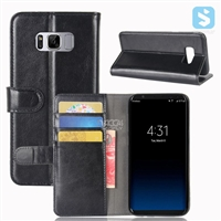 Crazy Horse PU Leather Wallet Case for SAMSUNG Galaxy S8 Plus