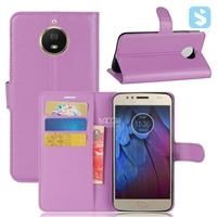 PU Leather Wallet Case for MOTOROLA G5S