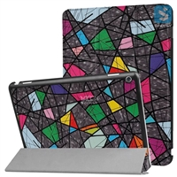 Printed PU Leather Case for HUAWEI MediaPad M3 Lite 10.1