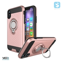 3D Ring Stand Combo Case for iPhone X
