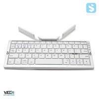 With Stand Foldable Bluetooth Keyboard