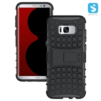 PC TPU Kickstand Case for SAMSUNG Galaxy S8 Plus