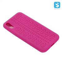Tyre Pattern Silicon Case for iPhone X(S)