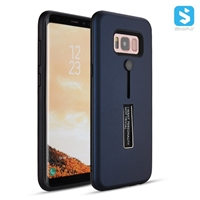 PC TPU Invisible Stand Ring Holder Case for SAMSUNG Galaxy S8+ /S8 Plus