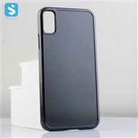 Stick PU Leather Blank Case for iPhone X(S)
