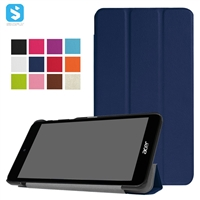 Tri Fold PU Leather Case for Acer Iconia B1 790