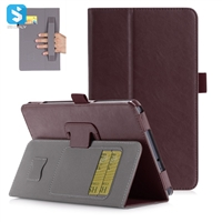 Cowhide Pattern PU Leather Case for SAMSUNG Galaxy Tab A 8.0 2017( T380/T385) with card slots
