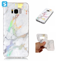 Electronic Printing Marble TPU Case for SAMSUNG Galaxy S8 Plus