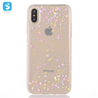 For iPhone X(S) Case Bling Epoxy TPU