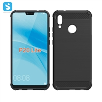 Brushed Pattern TPU Case for Huawei P20 Lite