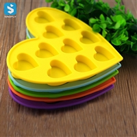 Silicon 10 Heart Ice Mould