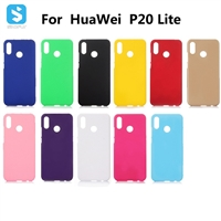 Soft Touch PC Case for Huawei P20 Lite