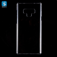 clear crystal phone case for Samsung Note 9