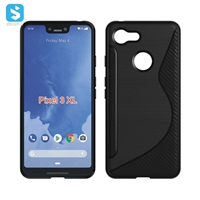 Clear TPU phone case for Google Pixel 3 XL