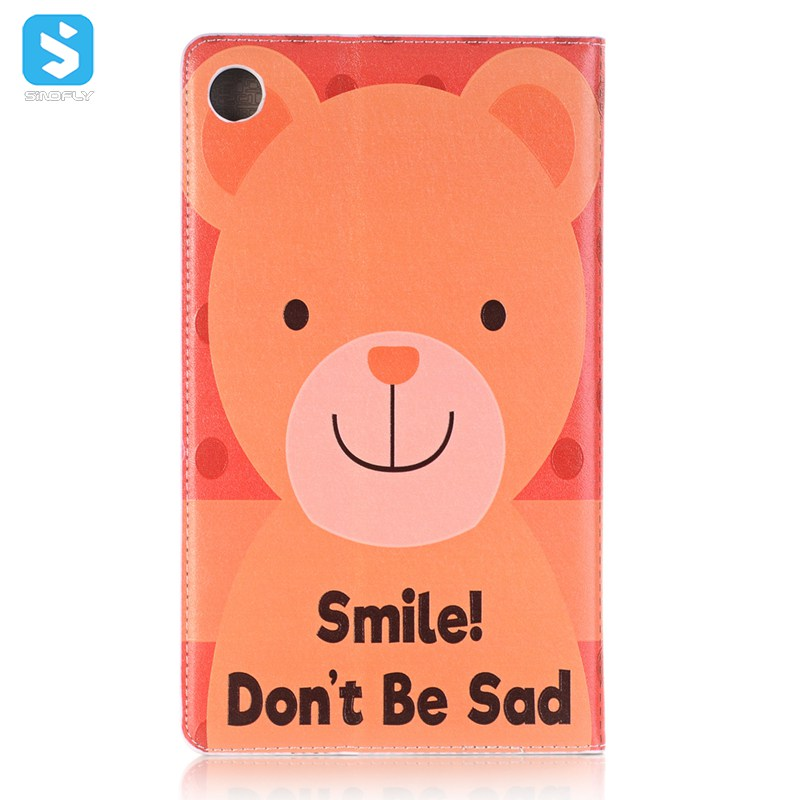 cartoon leather case for Huawei Mediapad M5 8.4