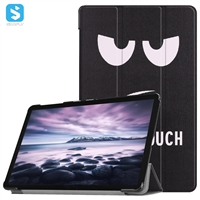 Tri fold colorful tablet case for Samsung Galaxy Tab A(10.5)/ T590/T595