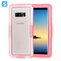 Clear waterproof case for Samsung Note 8