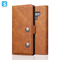 Bronzed leisure style phone case for Samsung Galaxy Note 9