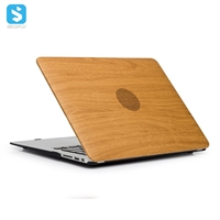 skin wooden grain case matte PC back cover for macbook Air 12(new Macbook)