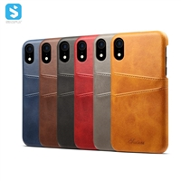 leather back cover for iPhone XR