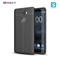 Litchi line TPU phone case for Nokia 9
