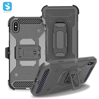 TPU+PC hybrid phone case for iPhone XS Max