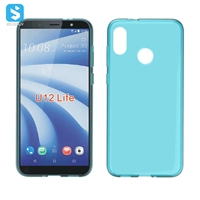 waterproof grain TPU phone case for HTC U12 Life