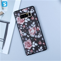Matte emboss TPU phone case for Samsung Galaxy Note 8