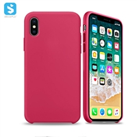 liquid silicone phone case for iPhone XS MAX