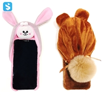 TPU plush toy phone case for iPhone XS