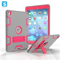 silicone PC with stand case for iPad Pro 9.7 (Air 3)