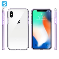 edge 2 in 1 TPU PC phone case for iPhone X(s)