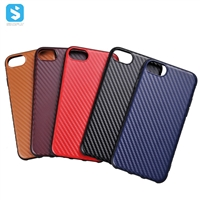tpu pc Rubberized phone case for iPhone 6 7 8
