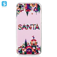 TPU christmas printing phone case for iPhone 7 8