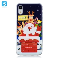 TPU printing christmas phone case for iPhone XR