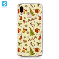 TPU christmas printing phone case for Huawei P20 Lite
