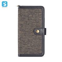 TPU PU cloth detachable 2 in 1 phone case for Samsung Galaxy Note 9
