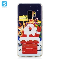 TPU printing christmas phone case for Samsung Galaxy S9