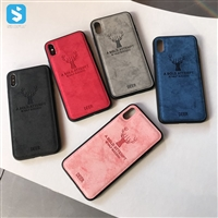 TPU PU with metal pone case with iphone X(S)